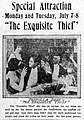 The Exquisite Thief - 1919 - newspaperad.jpg