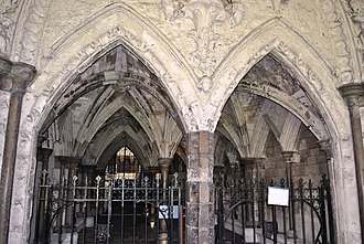 Abbey - Cloisters, Westminster Abbey