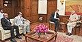 The Group CEO of Ericsson, Mr. Hans Vestberg calling on the Prime Minister, Shri Narendra Modi, in New Delhi on September 02, 2015 (1).jpg