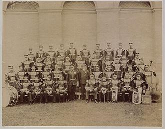 Band of the Irish Guards - Band of the Irish Guards in Toronto in 1905