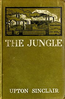 <i>The Jungle</i> Novel by Upton Sinclair