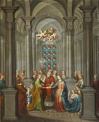 The Marriage of the Virgin (Desposorios de la Virgen)