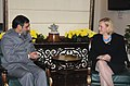 The Minister for Trade, Sweden, Dr. Ewa Bjorling meeting the Union Minister of Commerce and Industry, Shri Anand Sharma, in New Delhi on November 05, 2009.jpg