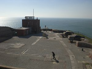 The Needles Battery - The view over the battery