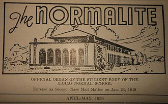 West Visayas State University - The Normalite nameplate, 1959