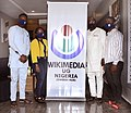 The Organizers and President, WikimediaNG on Day 3 of the South East Editathon in Owerri, Imo State, Nigeria.jpg