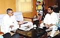 The Orissa Rural Development Minister, Shri Bikram Keshari Arukha calls on the Union Minister for Rural Development and Panchayati Raj, Dr. C.P. Joshi, in New Delhi on October 29, 2010.jpg
