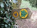The Peddars Way - footpath sign - geograph.org.uk - 1759380.jpg