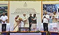 The Prime Minister, Shri Narendra Modi being welcomed at the foundation stone laying ceremony of various projects in Goa (1).jpg