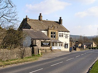 Earby town in Pendle, United Kindom