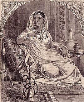 The Ranee of Jhansi-Chambers-1859.jpg