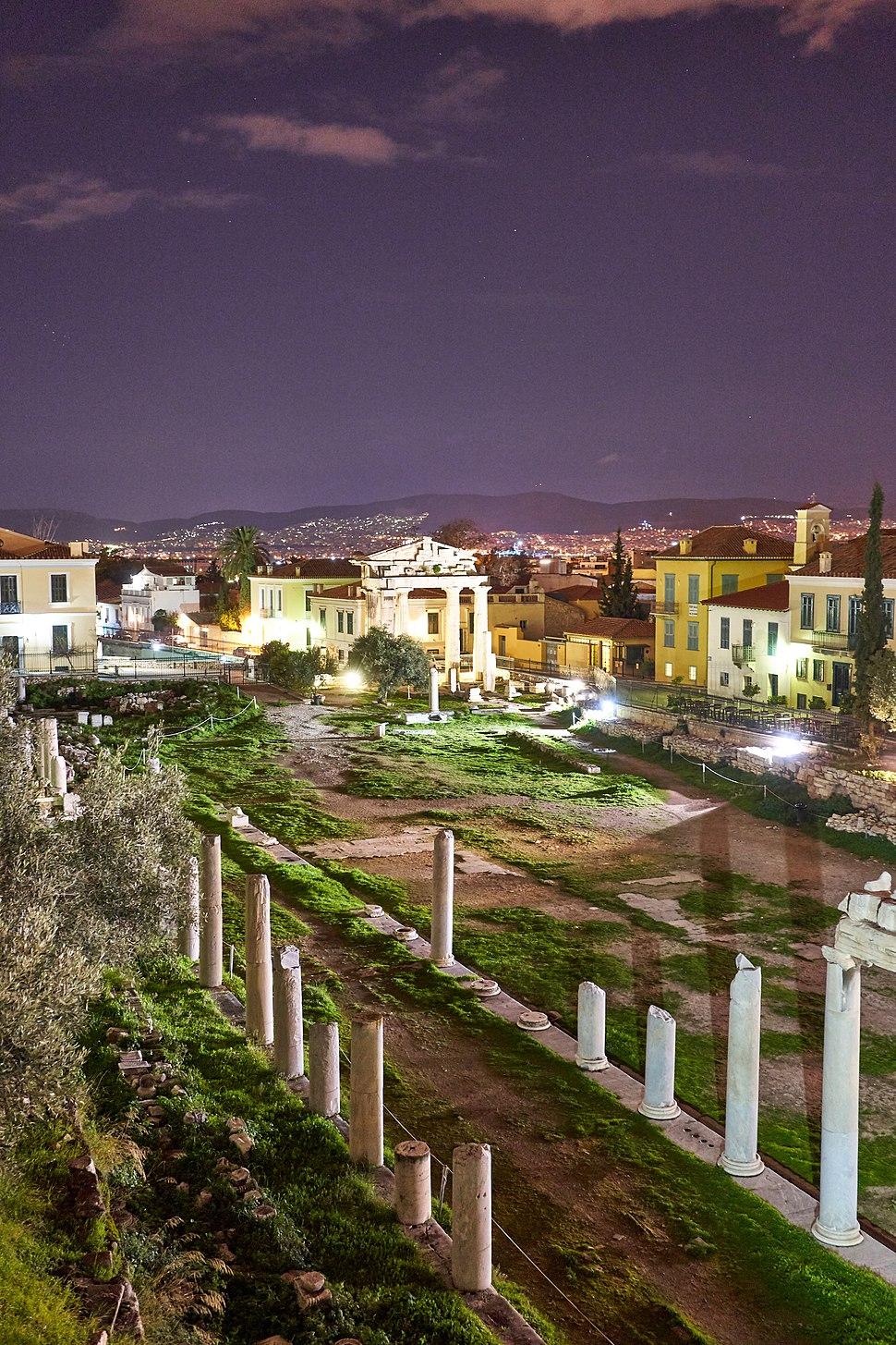The Roman Agora of Athens with the Gate of Athena Arhegetis