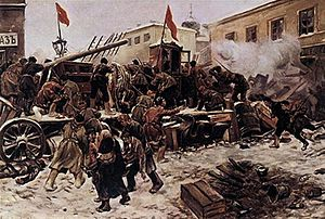 Moscow uprising of 1905 - Image: The Russian Revolution, 1905 Q81555