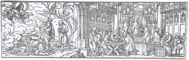 File:The Sale of Indulgences, by Hans Holbein the Younger.jpg