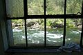 The Sandy River (with slalom race gates) from Bull Run Powerhouse.jpg