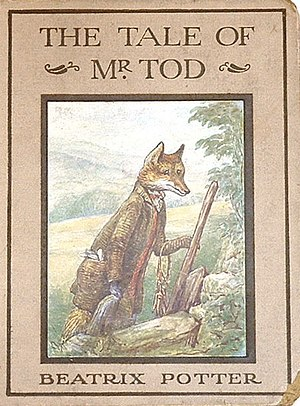 The Tale of Mr. Tod - First edition cover (USA)