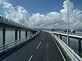 The Traffic Switchover bridge on Shenzhen Bay Port Hong Kong.jpg