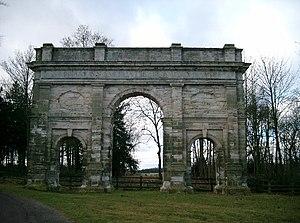 Parlington Hall - The Triumphal Arch