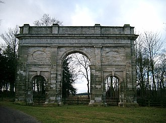 Thomas Leverton - The Triumphal Arch at Parlington Hall.