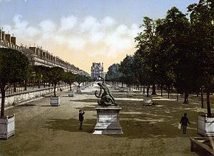 The Tuileries garden, Paris, France, between ca. 1890 and ca. 1900.jpg