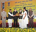 The Union Minister for Rural Development, Panchayati Raj, Drinking Water and Sanitation, Shri Chaudhary Birender Singh presented the MNREGA Awards, at the MNREGA Divas celebrations (1).jpg
