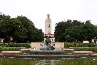 Pompeo Coppini - Littlefield Memorial Fountain (1920–28), University of Texas at Austin.