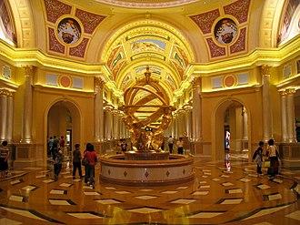 The Venetian Macao - Venetian lobby
