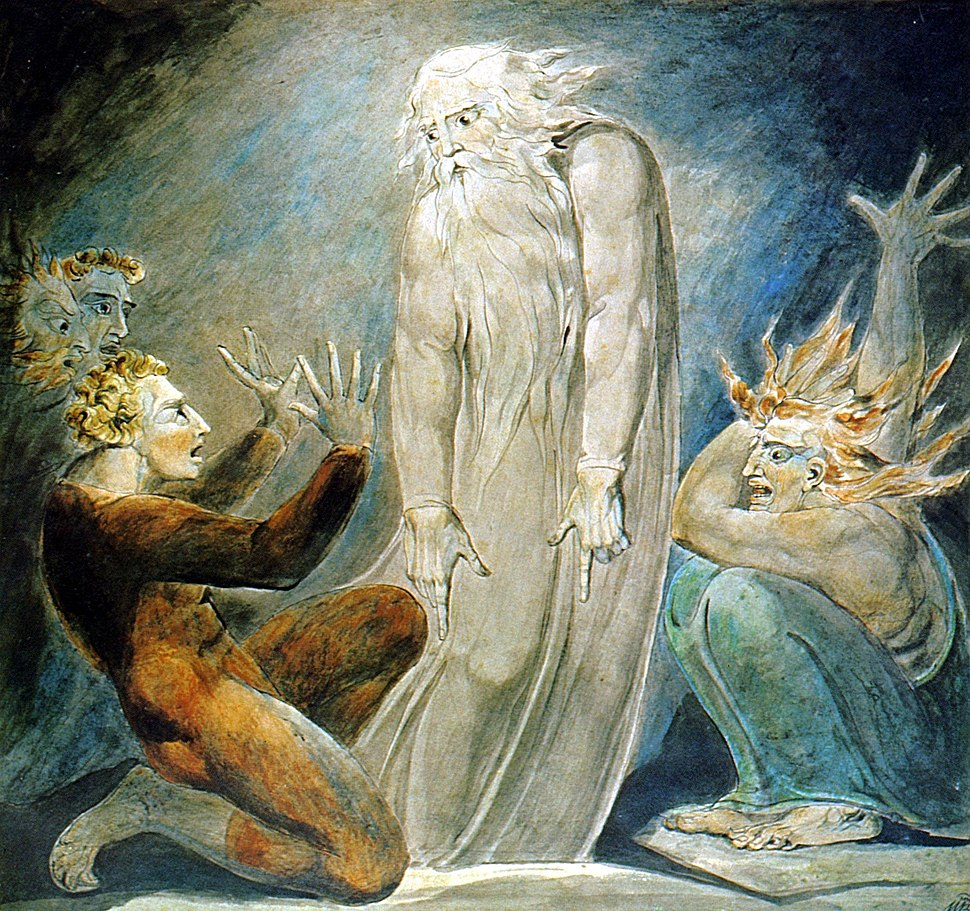 The Witch of Endor (William Blake) 2