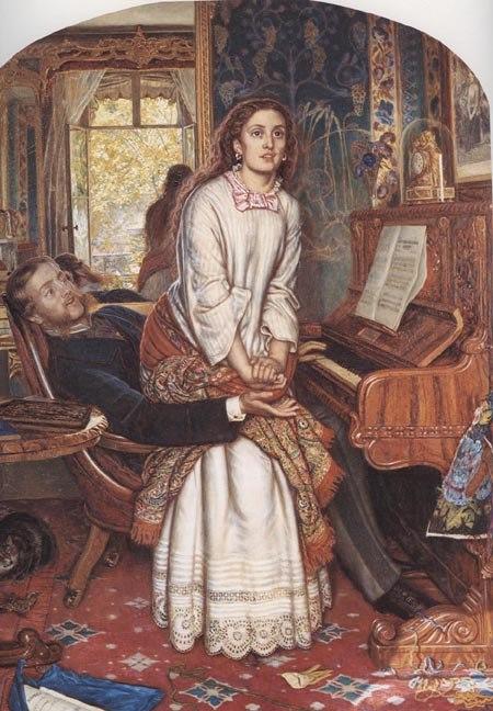 The awakening conscience, William Holman Hunt (1851-1853)