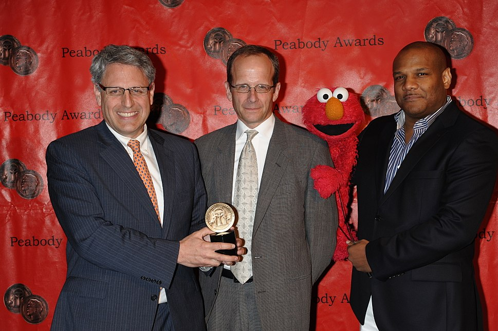 The crew of Sesame Street at the 69th Annual Peabody Awards