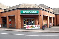 Budgens entrance in Southam