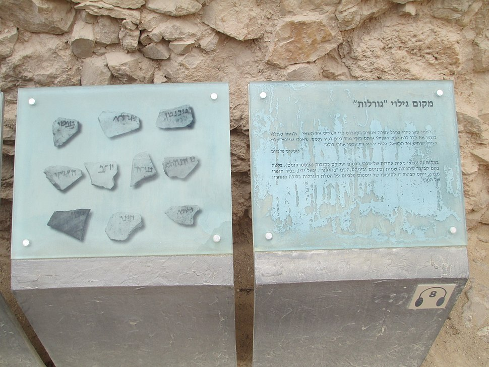 The fate ostracons in Masada