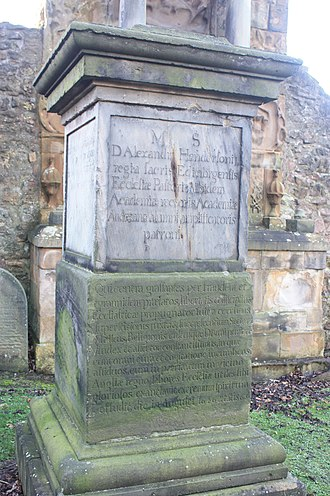 Alexander Henderson (theologian) - The grave of Alexander Henderson, Greyfriars Kirkyard