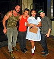 The infamous Kelly Kline of Oilcan Harrys with the Boys of Fleshjack (Spencer Reed, Seth Knight & Jake Bass) (7852914244).jpg