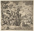 The rest of the Holy Family on their flight to Egypt MET DP812788.jpg
