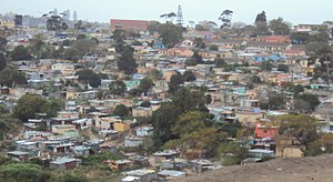 Duncan Village - Image: The township of Duncan Village near East London, Eastern Cape