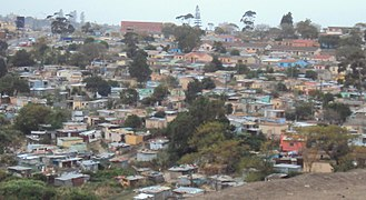 Duncan Village - The township of Duncan Village near East London, Eastern Cape
