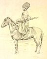 Theodor Horschelt. Uriadnik Guatua konvoia namestnika kavkazskago.jpg