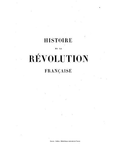 File:Thiers - Histoire de la Révolution française, tome 8.djvu