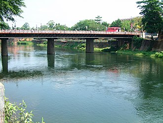 Thodupuzha River - Bridge across Thodupuzha river
