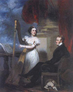 Thomas Richardson Colledge - Colledge and his wife Caroline