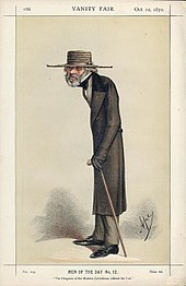 Caricature By Ape Published In Vanity Fair 1870