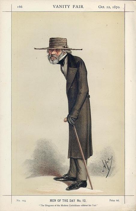 Thomas Carlyle Vanity Fair 22 October 1870