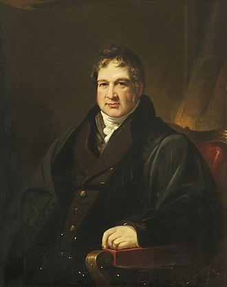 Thomas Colley Porter - Thomas Colley Porter - 1831 painting by James Lonsdale