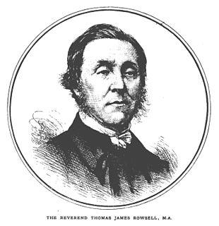 Thomas James Rowsell English cleric