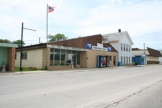 Thomasboro, Illinois - Thomasboro Illinois Post Office.
