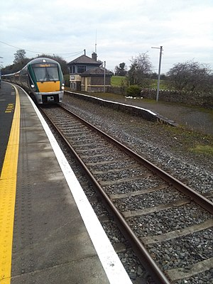 Thomastown railway station - The station today note that only one platform remains in use