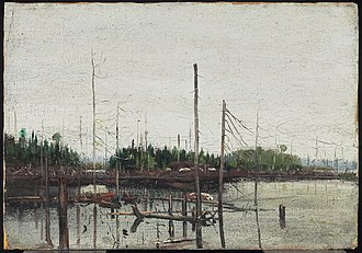 Artistic development of Tom Thomson - Drowned Land, Fall 1912. Art Gallery of Ontario, Toronto