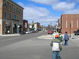 Three Oaks, Michigan Village in Michigan, United States