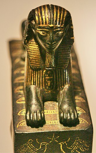Nine bows - Image: Thutmose III sphinx E10897 mp 3h 8799